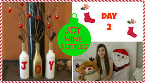 How To Decorate A Wine Bottle For Christmas JOY WINE BOTTLE DECORATION TUTORIAL DIY CRAFTY CHRISTMAS YouTube 83