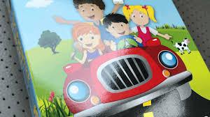 best car activities for kids families