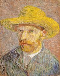 vincent van gogh essay heilbrunn timeline of art self portrait a straw hat obverse the potato peeler