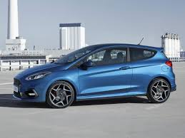 2018 ford new models. simple new 2018 ford fiesta st blue front three quarters left throughout ford new models