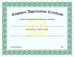 blank certificates certificate of appreciation for employees blank background design