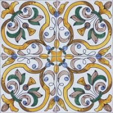 painted tile designs. 2419 Portuguese Handmade Majolica Tile Painted Designs L