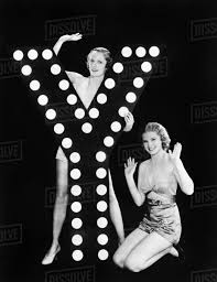 Two Young Women Posing With The Letter Y D1338_4_111