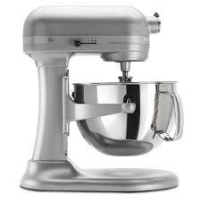 kitchenaid kp26m1xpm nickel pearl 6 qt professional 600 series stand mixer