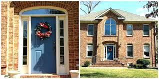 brick house meaning colored front door colors for brown house doors awesome brick painting red meaning brick house