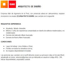 Oportunidad Laboral Gmi Informante Minero