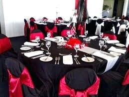 red and silver table decorations. Black And Silver Table Decor Red Decorations White Reception Tables Party Centerpieces
