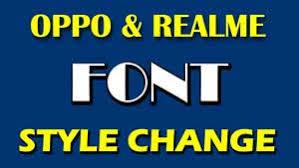 Realme Font Change Realme Font Download Font Style