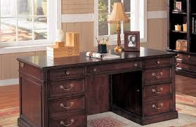 cherry wood desk design