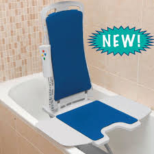 bathtub lift chairs. Drive Medical Blue Whisper Ultra Quiet Bathtub Lift - Super Easy To Use! Chairs