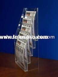 Acrylic Flyer Display Stand Magazine Rack Brochure Magazine Rack Brochure Manufacturers In 75