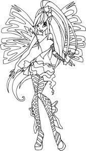 Disegni Da Colorare Winx Sirenix Musa Disegni Da Colorare Tecna