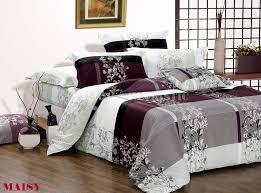 gallery of cream grey blue queen size cotton bedding sets duvet cover sheet elegant king harmonious 5
