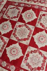315 best Red and white quilts images on Pinterest | Patchwork ... & Cornelian quilt pattern by Helen Stubbings Adamdwight.com