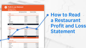 Profit And Los How To Read A Restaurant Profit And Loss Statement Free