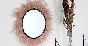 diy juju hat feather mirror perles co