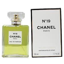 chanel 19. chanel no 19 by for women eau de parfum spray 1.7oz