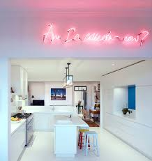 neon lighting for home. Neon Lighting For Home Led Lights Room Efbbdabf Tikspor Inspirations In The Kitchen Gallery Light Signs Contemporary With Bar Stools Breakfast Bright White U