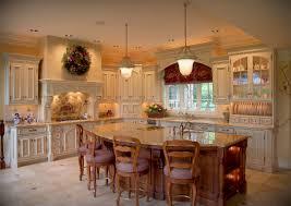 Kitchen Island Granite Furniture Contemporary Kitchen Interior Design Wooden Varnished