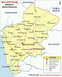 malappuram tourism map  tourist places in malappuram  south
