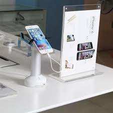 Cell Phone Display Stands COMER Antitheft Security Devices For Alarm Counter Stand Phone 31