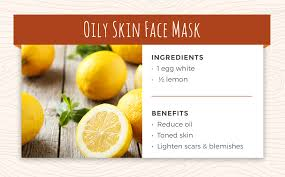 recipe 6 oily skin face mask