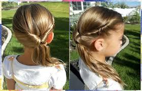 Peinados Con Ligas Y Cintas Peinados Lindos Y Faciles