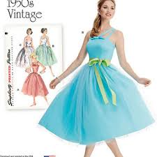 Retro Dress Patterns Awesome Best Simplicity Wedding Dress Patterns Products On Wanelo