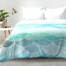 mermaid toddler bedding set stylish east urban home mermaid scales comforter set reviews mermaid bedding set