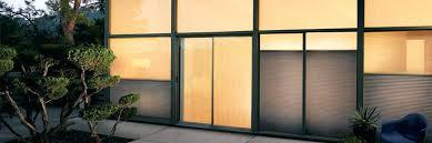 sliding glass door tint impressive on patio privacy ideas amp window treatments hunter should i my