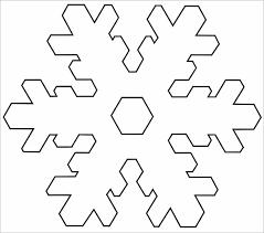 Snow Templates 14 Free Snowflake Templates Pdf Free Premium Templates