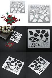 <b>5pcs</b>/<b>set Flowers Metal</b> Cutting Dies Scrapbooking Embossing ...