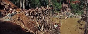 Image result for bridge over the river kwai images
