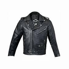 uk new boys genuine leather jacket childrens black real biker style kids coat 1 of 2free
