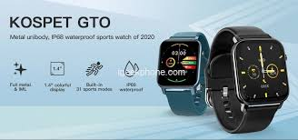 <b>Kospet GTO</b> Review - 31 Sport Modes <b>Smartwatch</b> at $16.99 (Flash ...