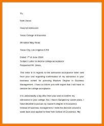 College Acceptance Letter Sample Flexible Screenshoot Example Of ...