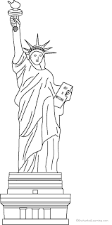 Small Picture Statue of Liberty Coloring Page to Print EnchantedLearningcom