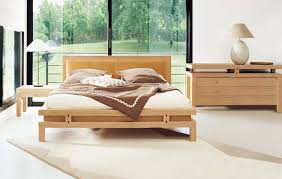 modern wooden beds  bedroom design ideas