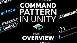 Unity Design Patterns C Command Pattern In Unity Part 1 Overview