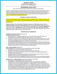 Business Systems Analyst Sample Resume Cool Create Your Astonishing Business Analyst Resume And Gain The 17