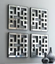 mirror wall art decor amazing mirrored wall decor fretwork square wall in mirrored wall art mirror wall art