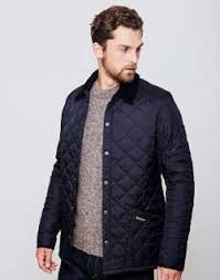 The Top 8 Men's Trends for A/W 2017 | Barbour and Quilted jacket & Quilted jacket · mens Barbour heritage liddesdale quilted jacket navy men Adamdwight.com