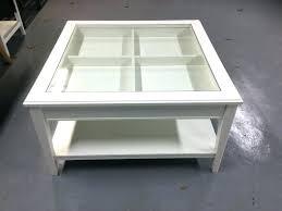 ikea square coffee table glass
