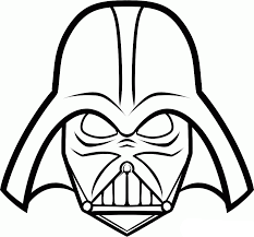 Small Picture Star Wars Darth Vader Coloring Pages GetColoringPagescom