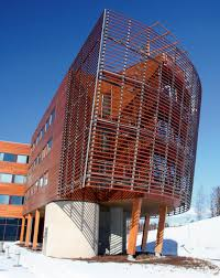 Wooden office buildings Prefabricated The Tallest Wooden Office Building In Europe Tekla Finnforest Modular Office Tekla
