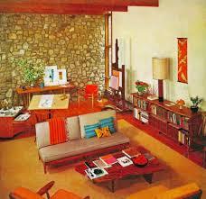Living Room Foxy Image Of Vintage Retro Living Room Decoration Using