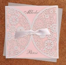 Weding Card Designs Luxury Laser Cutting Handmade Wedding Invitation Card Designs