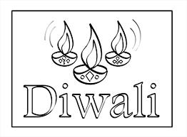 Small Picture Diwali Coloring Coloring Pages