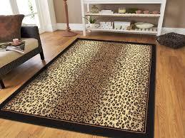 area rug cheetah rug runner black and white animal print rug leopard print rug runner