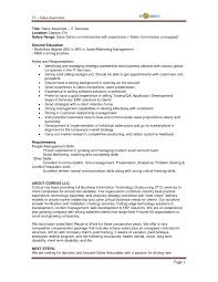 Resumes For Sales Jobs 12 Associate Job Description Resume Is One Of